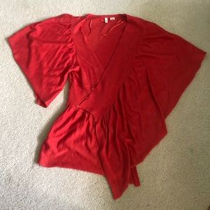 Moth asymmetric sweater